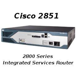 Cisco 2851 Integrated Services Router