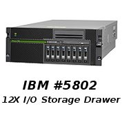 IBM 5802: Improving POWER6 Server Performance & Capabilities