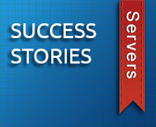 Success Story – Cisco Blade Servers