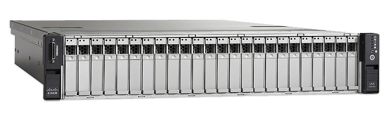 UCSC-C240-M3S: Cisco UCS C240 M3 SFF, no CPU, memory, HDD, pwr sply, or PCIe
